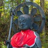 Otake Jizo Statue in front of Nyonindo Temple in Koyasan, Wakayama Royalty Free Stock Photo