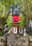 Otake Jizo Statue in front of Nyonindo Temple in Koyasan, Wakayama Stock Photo