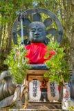 Otake Jizo Statue in front of Nyonindo Temple in Koyasan, Wakayama Royalty Free Stock Images