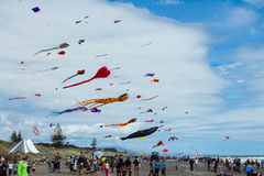 Otaki Beach Kite Day Stock Photos