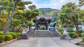 Otani Mausoleum in Kyoto Royalty Free Stock Image
