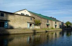 Otaru Canal Stock Image
