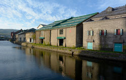 Otaru Canal royalty free stock photography