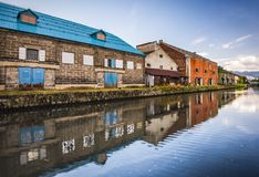 Otaru Canals Royalty Free Stock Image