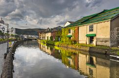 Otaru Canals Royalty Free Stock Photos