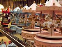 OTARU - Carousel in the Music box museum Royalty Free Stock Image