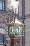 Otaru, Hokkaido, Japan- June 5, 2016. Otaru Steam Clock Tower. I Stock Photo
