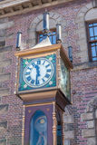 Otaru, Hokkaido, Japan- June 5, 2016. The vintage steam clock to Royalty Free Stock Image