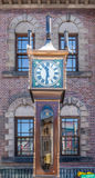 Otaru, hokkaido, Japonia: Czerwiec 5, 2016 Rocznik kontrpary zegar Obrazy Royalty Free