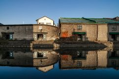 Otaru kanal Royaltyfri Foto