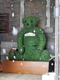 OTARU - Orso nel museo di Music Box Fotografie Stock