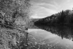 Otava flod Royaltyfri Bild