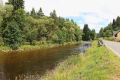 Otava River, Czech Republic stock photography