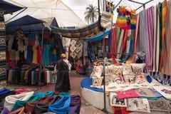 Otavalo厄瓜多尔工匠市场 库存照片