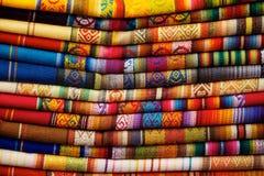 Otavalo Blankets Stock Images