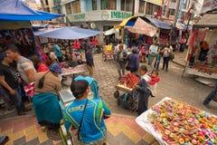 Otavalo Ecuador artisan market Royalty Free Stock Photos