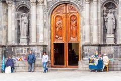 Otavalo, Ecuador Church Activity Stock Image