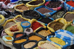 Otavalo market Royalty Free Stock Images