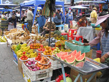 Otavalo produce and craft Market Stock Photos