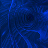 otchłań futurystyczna Obraz Royalty Free