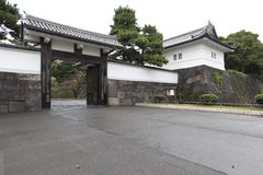 Ote-mon gate of Edo castle. Royalty Free Stock Image
