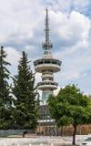 OTE-Telekommunikations-Turm-Südansicht Stände 76 dieses Meter 1966 Turms Hoch vom GR stockbild