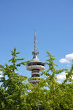 OTE tower in Thessaloniki Royalty Free Stock Photography