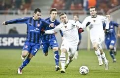 Otelul Galati - FC Βασιλεία στοκ φωτογραφίες με δικαίωμα ελεύθερης χρήσης