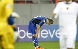 Otelul Galati - FC Basel Royalty Free Stock Photography