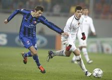 Otelul Galati - FC Basel Stock Photos