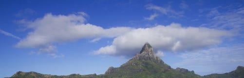 Otemanu mountain Royalty Free Stock Photography
