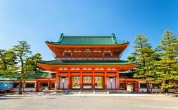 Otenmon, la voie de base du tombeau de Heian à Kyoto photo stock