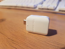 OTG Dongle Samsung Stock Photo