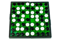 Othello Board Game Isolated Royalty Free Stock Image