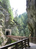 Othello Canyon Tunnels and Falls Stock Photography
