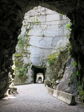 Othello Canyon Tunnels and Falls Royalty Free Stock Image