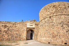 Othello Castle in Famagusta Royalty Free Stock Photo