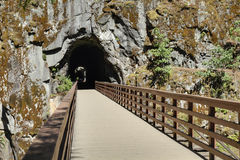 Othello Tunnels, British Columbia Stock Photos