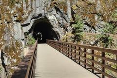 Othello Tunnels, British Columbia Stock Photos