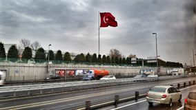 The Other Red Flag Turkiye holiday with family Royalty Free Stock Image