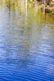 The other side. Reflections in blue water of a forest lake in Russia Stock Photo