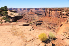 Dead Horse Point. The other side of Daad Horse Point Overlook Stock Photography