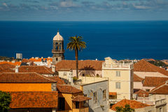 The other view of La Orotava town, Tenerife. Canary Islands stock photos