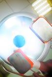 Otherworldly ослепляя свет во время patient& x27; спасение s стоковое фото