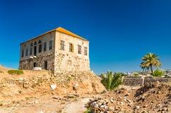 Othman El-Houssami House in Byblos, Lebanon royalty free stock image