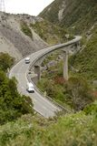 Otira Viaduct in Arthurs Pass National PArk Stock Photo