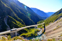 Otira Viaduct Lookout Stock Photography