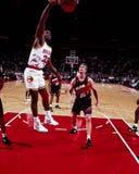Otis Thorpe, Houston Rockets στοκ φωτογραφίες