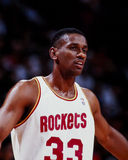 Otis Thorpe Houston Rockets Royaltyfri Fotografi