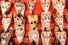 Otive tablet of the shape of fox head Royalty Free Stock Photo
